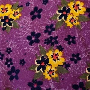 Lularoe TC Leggings Floral Pattern